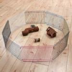 Corral para roedores