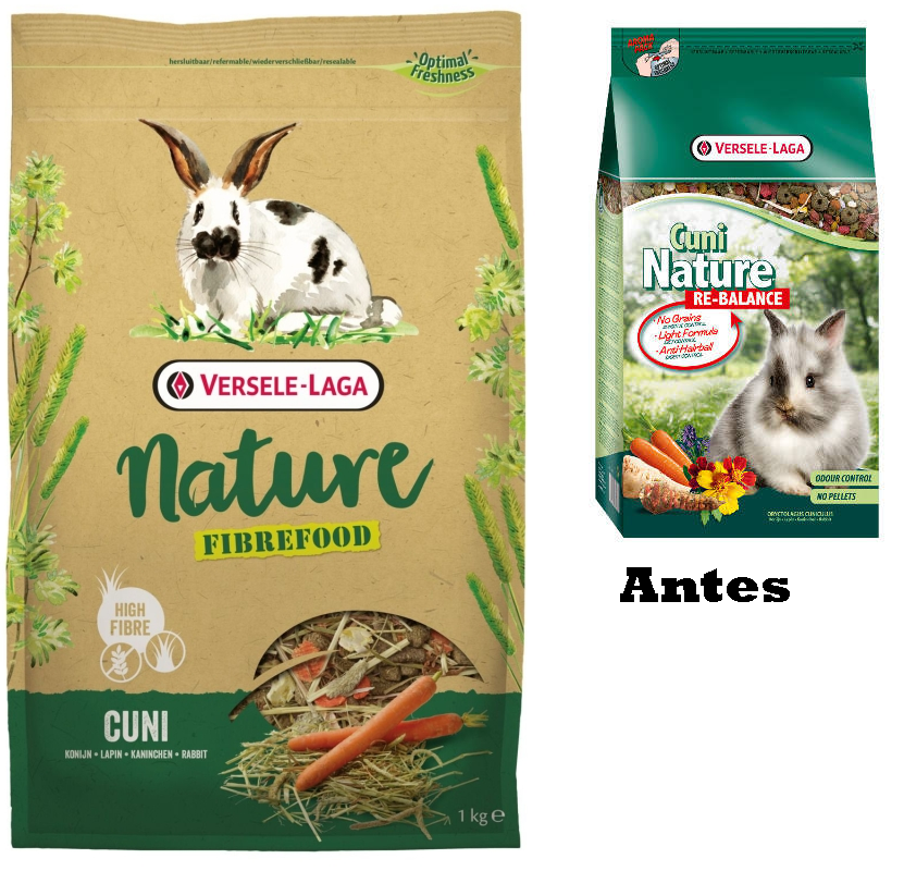 Cuni Nature Fibrefood - antes Cuni Nature Re-Balance