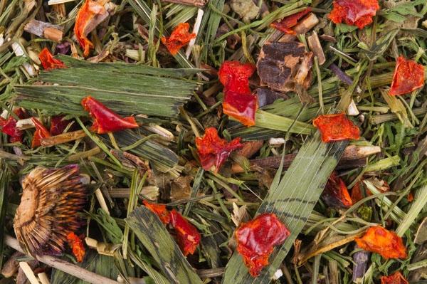 Mix de hierbas y pimiento