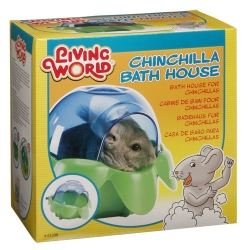 Living World. Badehaus für Chinchillas