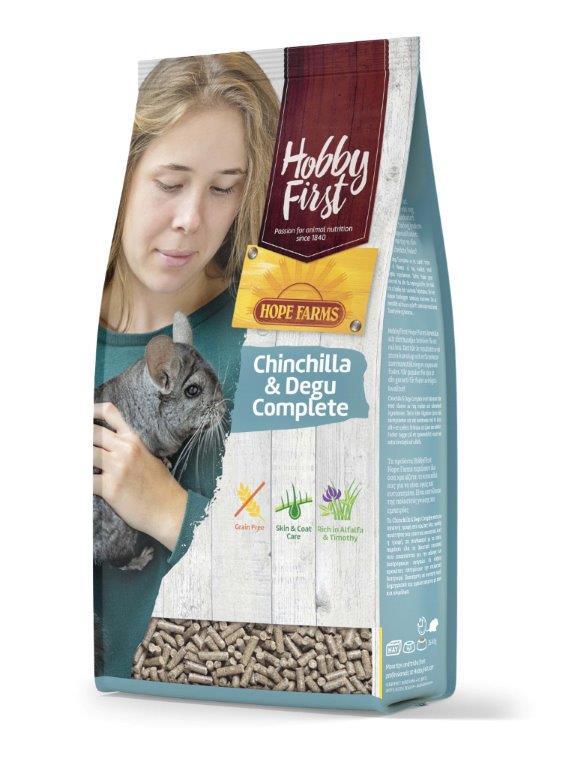 HF Hope Farms chinchilla & degus complete