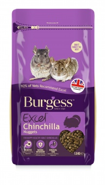 Burgess Excel para chinchillas con menta