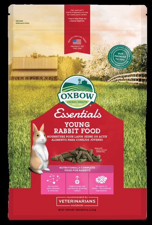 Pienso Conejo Joven y Reproducción Oxbow